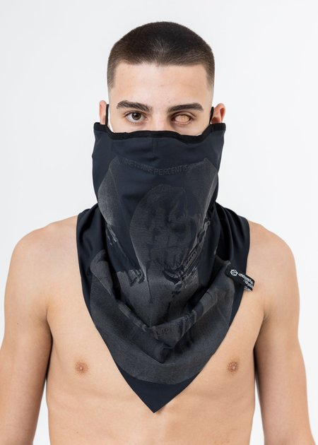 """99%is """"OUR FACE"""" Reflective Neckwarmer - Black"""