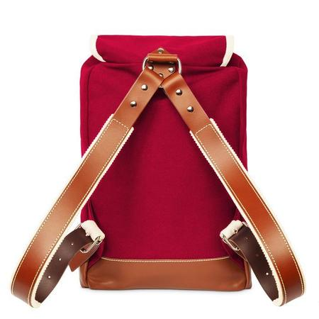 YKRA Matra Mini Backpack - Bordeaux