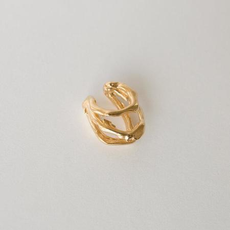 Merewif Deluge Cuff Earing - gold plated