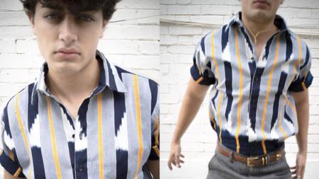 Kente Gentlemen Le Baoulé III Shirt