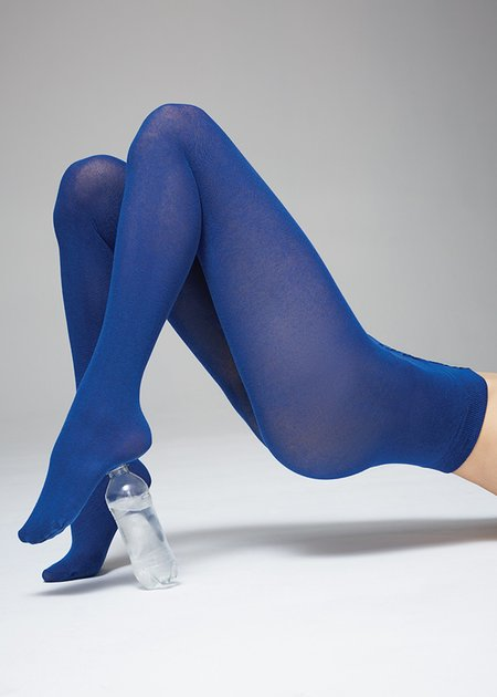 Swedish Stockings Polly Innovation Tights Socks - Sea Blue