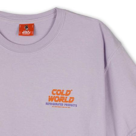 Cold World Frozen Goods  Mean Bunny T-shirt - Orchid