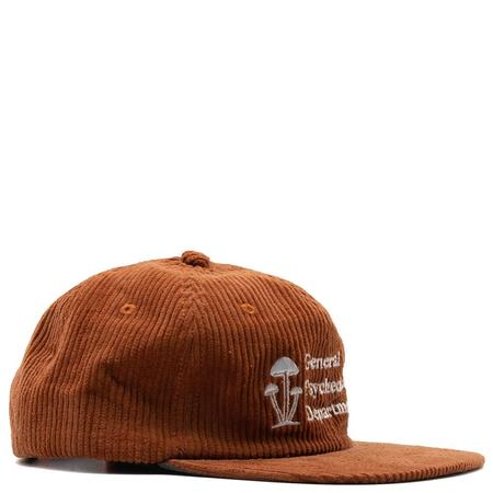 Mister Green General Psychedelics V2 Wale Cord Cap -  Sweet Potato