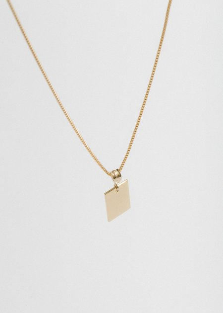 Merewif Alice Necklace - 22 gold
