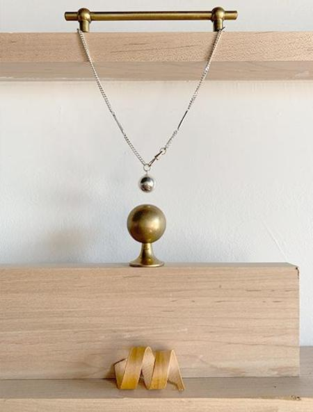 open house projects Ball Necklace - Silver