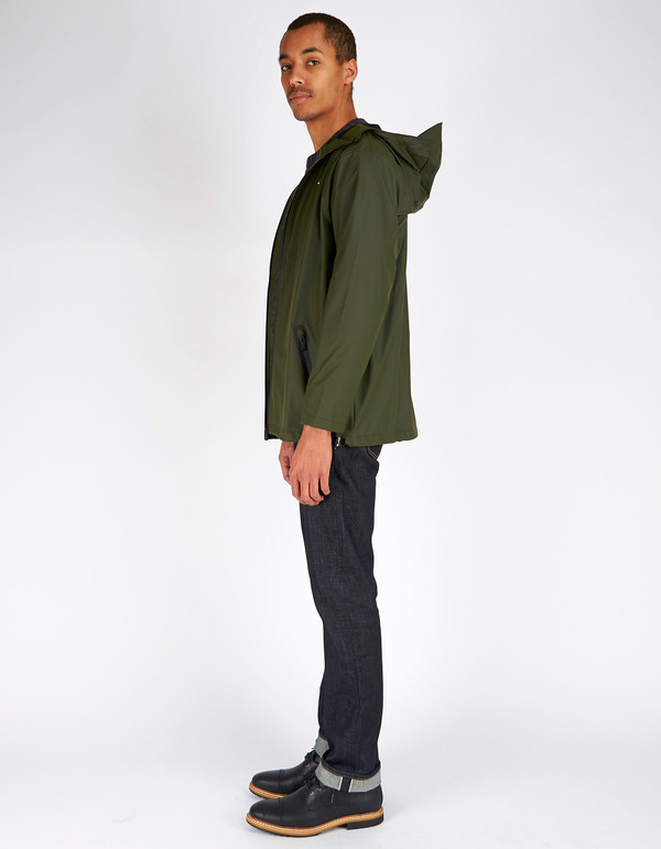 Unisex Rains Breaker Jacket Men's Green