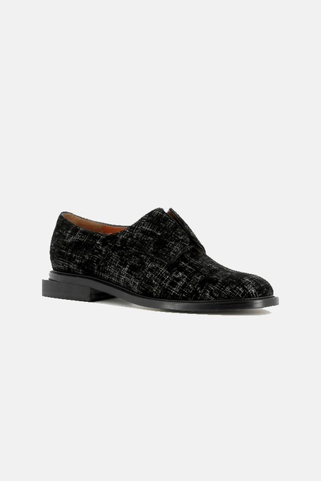 Robert Clergerie Rayane Derbies Shoes - Black Graph