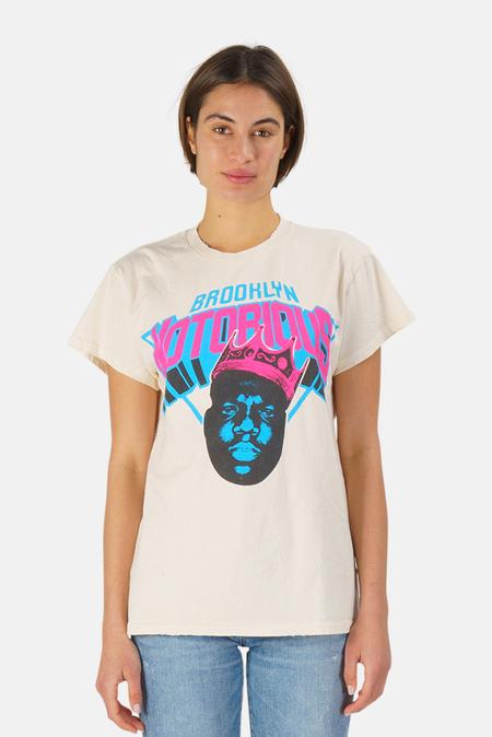 MadeWorn Rock Brooklyn Notorious T-Shirt - White