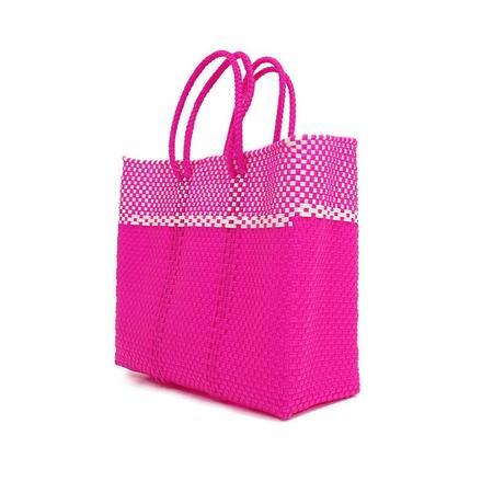 Letra Lg Dulce Mercado Bag - Pink