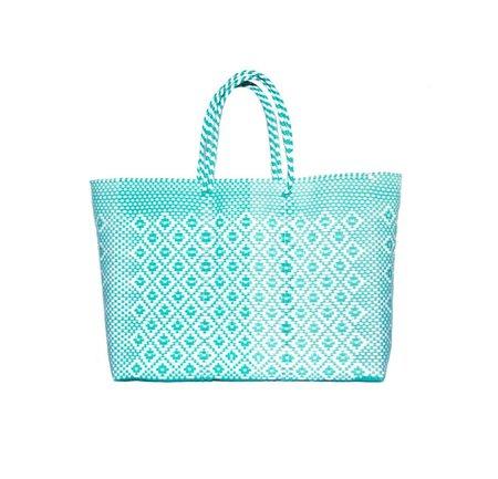 Letra Lg Diamond Mercado Bag - Mint
