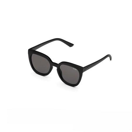 Quay Noosa Shiny Sunglasses - Black
