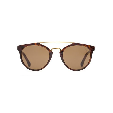 UNISEX Farm Stand Sea 2 See Spy 16 Sunglasses - brown