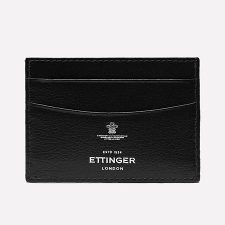 Ettinger Capra Card Holder - Black