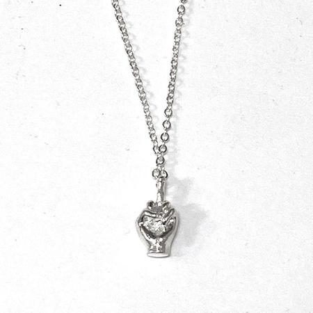 Satomi Studio Gesture Necklace - Sterling Silver