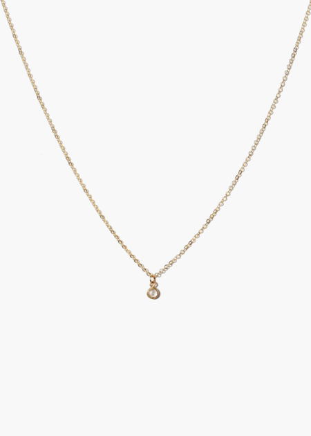 ABLE Stella drop necklace - 14K gold filled