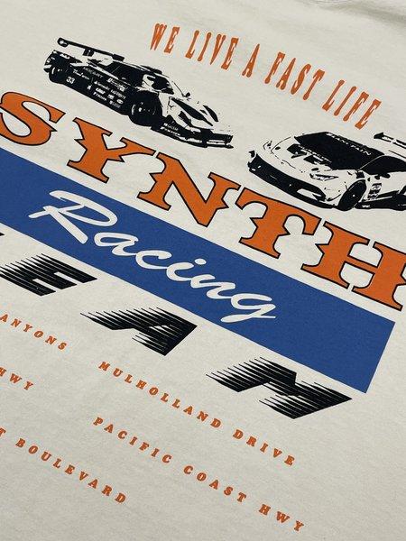 SYNTH Race Team Tee - cream