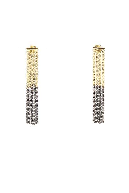 MARIE LAURE CHAMOREL MLS463 Earrings - 18 kt gold vermeil