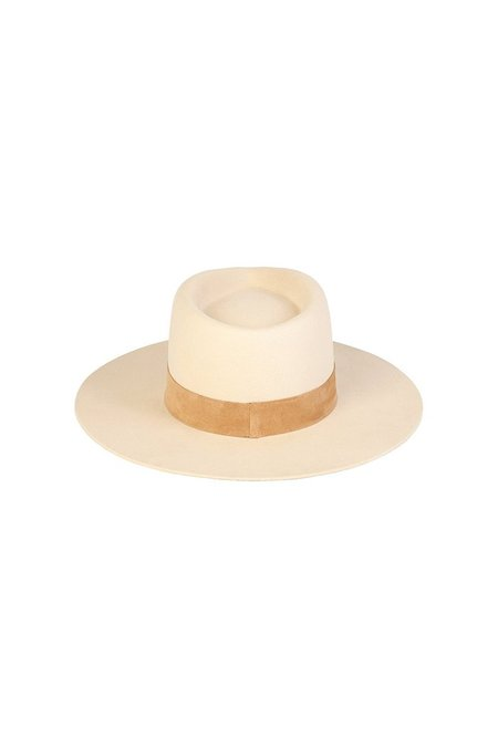 Lack Of Color The Mirage Hat - Ivory