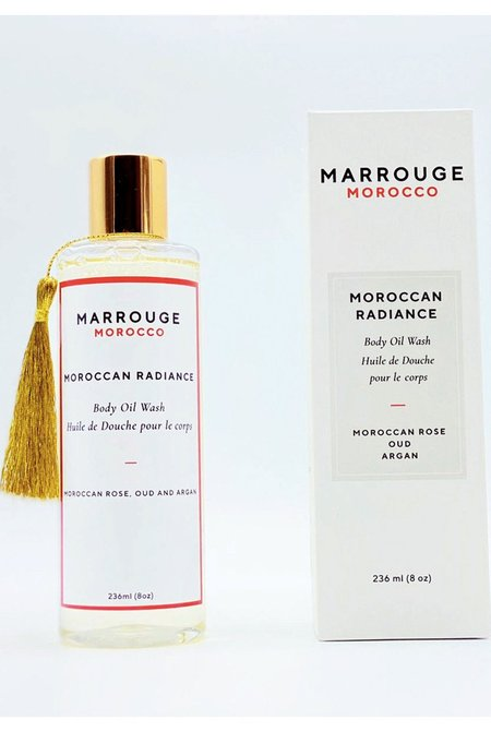 Marrouge Moroccan Radiance Body Oil Wash