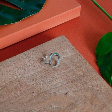 The CANO Shoe PAULA Ring - Silver