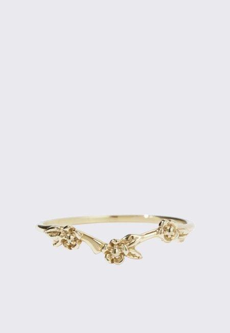 Meadowlark Alba Band Ring - 9ct gold