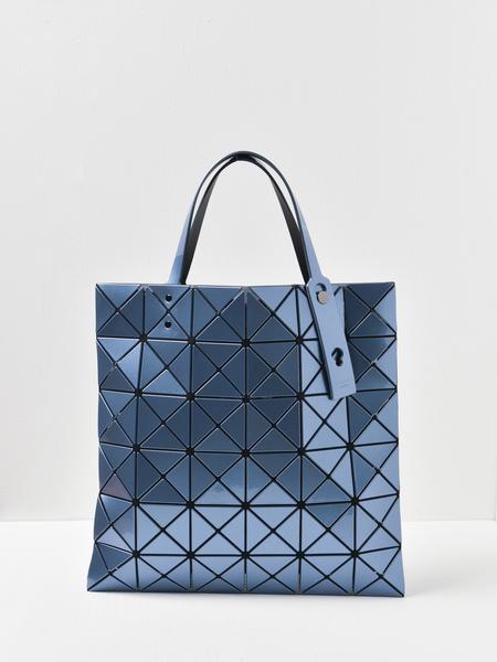 Bao Bao Issey Miyake Lucent Metallic Bag - Light Blue