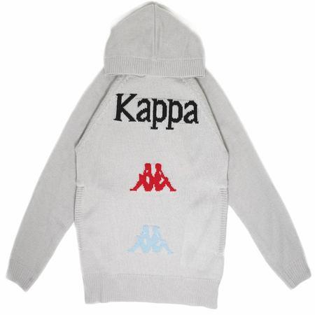 KAPPA Authentic Kasmart Hooded Sweater - Gray