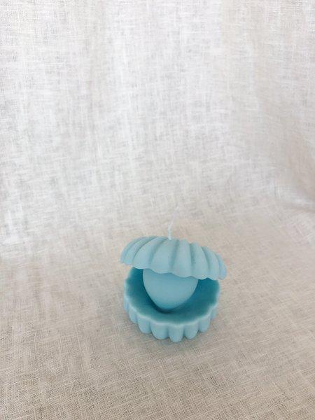 Ri-Ri-Ku Oyster Candle - Blue