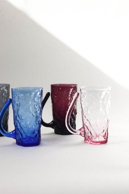 Vintage Crinkle Cup Set - Multicolor