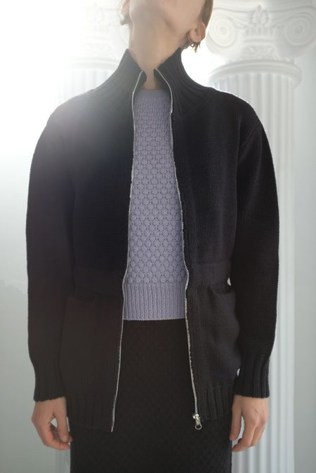 Beklina Knit Nonna Jacket - Licorice