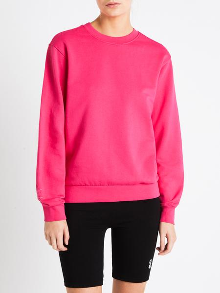 LES GIRLS LES BOYS Crew Neck Sweatshirt - Pink