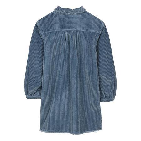 KIDS Finger In The Nose Child Skeena Jumbo Cord Dress - Stone Blue