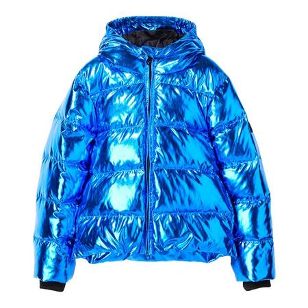 kids Finger In The Nose Child Snowfield Down Winter Jacket - Pop Metal Blue