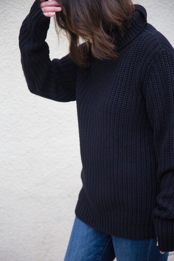earnest sewn mia turtleneck sweater