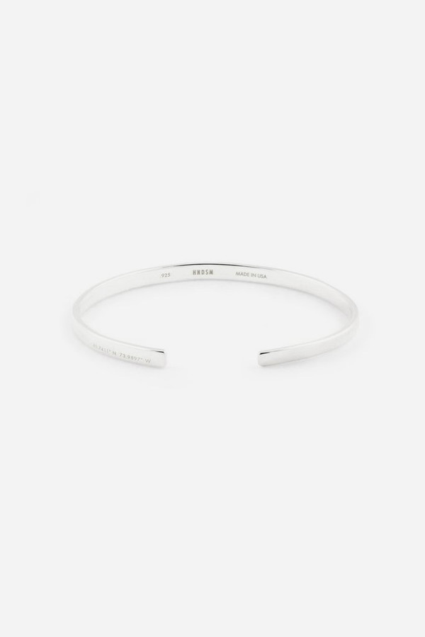 HNDSM Sterling Silver New York Bracelet