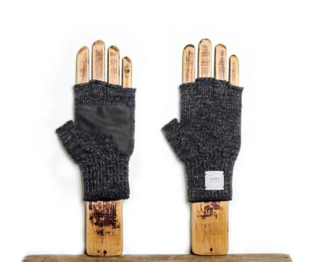 Upstate Stock Fingerless Deerskin Glove