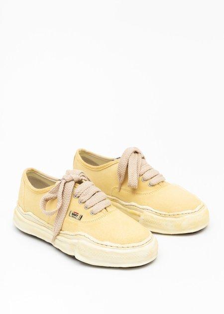 Mihara Yasuhiro Original Sole Overdyed Canvas Baker Sneaker - Beige