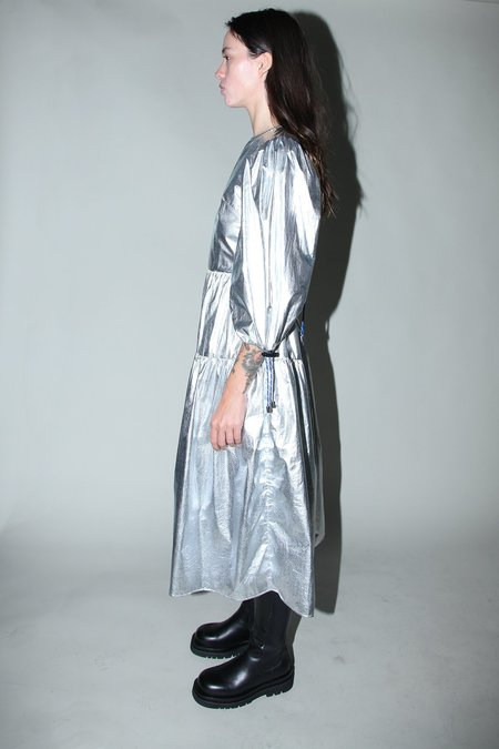 Kk Co Studio Hus Dress - Space Foil