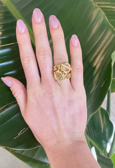 SS JEWELRY Chain Link Ring