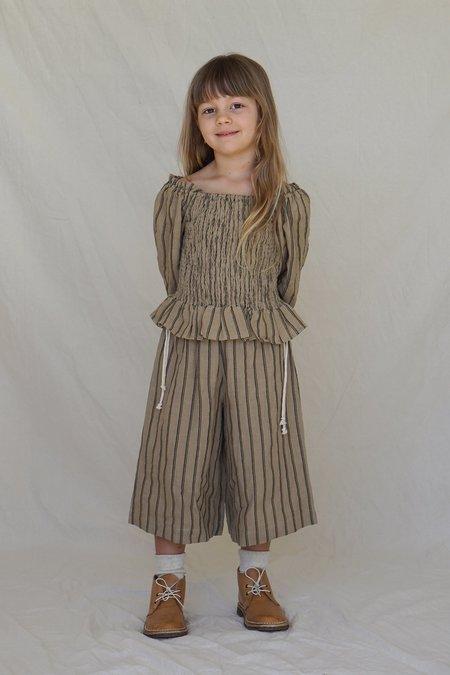 Kids House Of Paloma Matisse Culotte - Jute Stripe