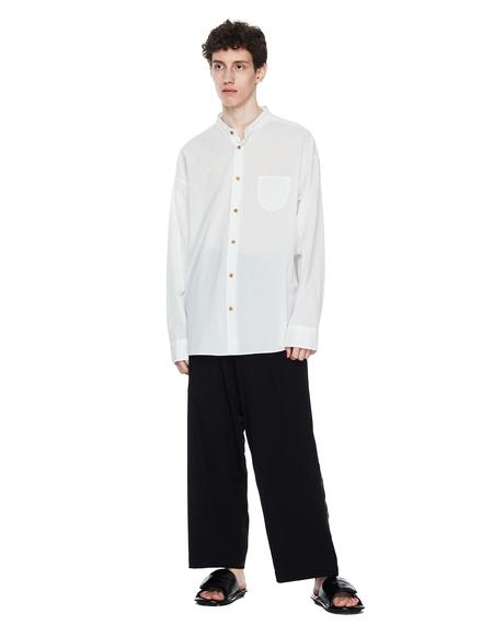 Yohji Yamamoto Wool Oversize Trousers