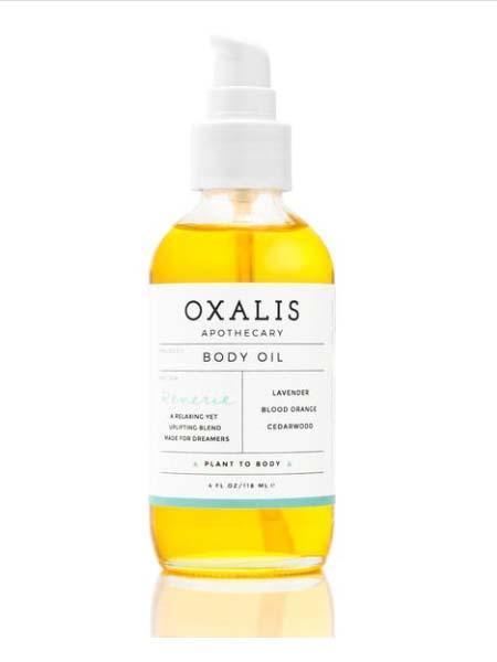 OXALIS Calming Citrus Body Oil