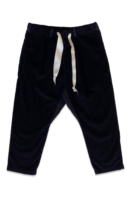 Seeker Corduroy Paddington Pant - Black