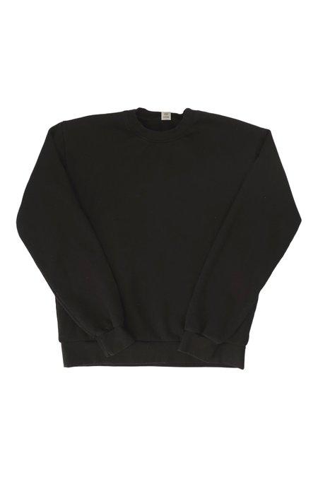 SEEKER Flag Crew Sweatshirt - Black