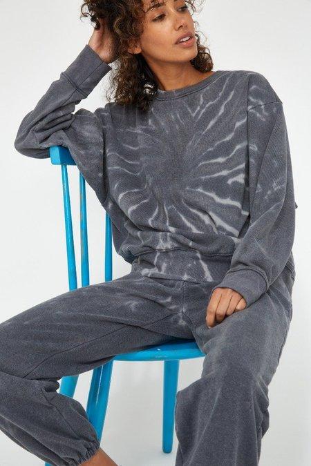 Lacausa SLATER RECYCLED SWEATSHIRT - gray