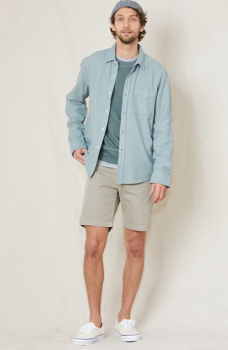 Save Khaki Twill Bermuda Shorts