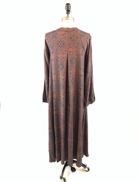 Natalie Martin Fiore Maxi Dress - moroccan tile