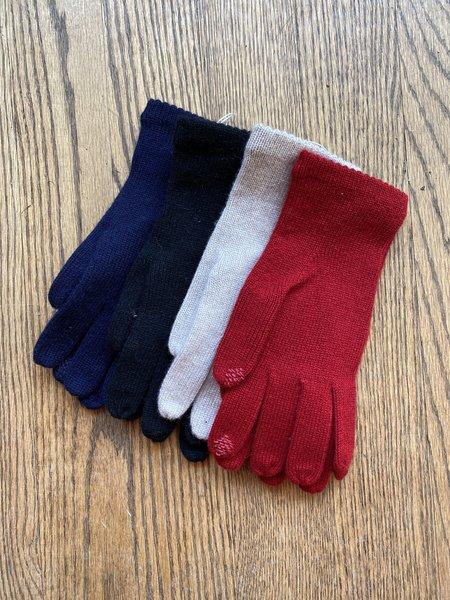 Carolina Amato Cashmere blend Texting Gloves