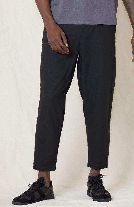 Lot78 Crepe Tux Pant - black