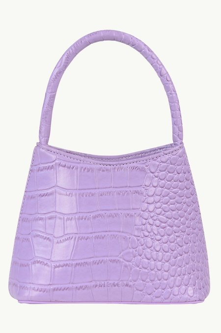 BRIE LEON The Mini Chloe bag - Lilac Croc